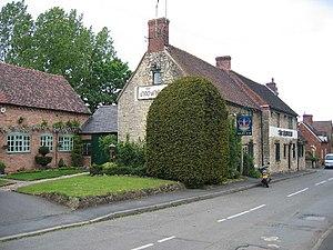 Harbury - The Crown Inn, built in the 18th century
