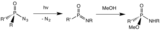 Scheme of the Harger reaction