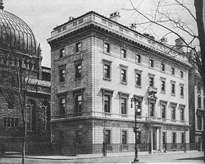 Edward Harkness - Harkness House in New York, now home of The Commonwealth Fund