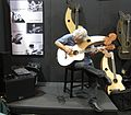 Harp guitar performed, 2010 Summer NAMM.jpg