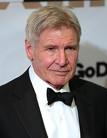 Harrison Ford - the hot, sexy, actor, writer, with German, Irish, Jewish, roots in 2020