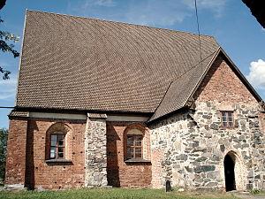 Tavastia Proper - Image: Hattula Pyhän Ristin kirkko 2