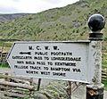 Haweswater Mcr Corpn Water Works Sign 1930s.jpg
