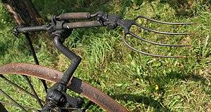 hay fork of simply hay tedder