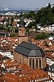 Heiliggeistkirche seen from the castle - Heidelberg - Germany 2017 (2).jpg