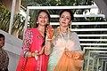 Hema Malini, Ahana Deol at Esha Deol's mehendi ceremony 04.jpg