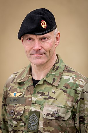 Sergeant Major of the Army (Denmark) - Image: Henning Bæk