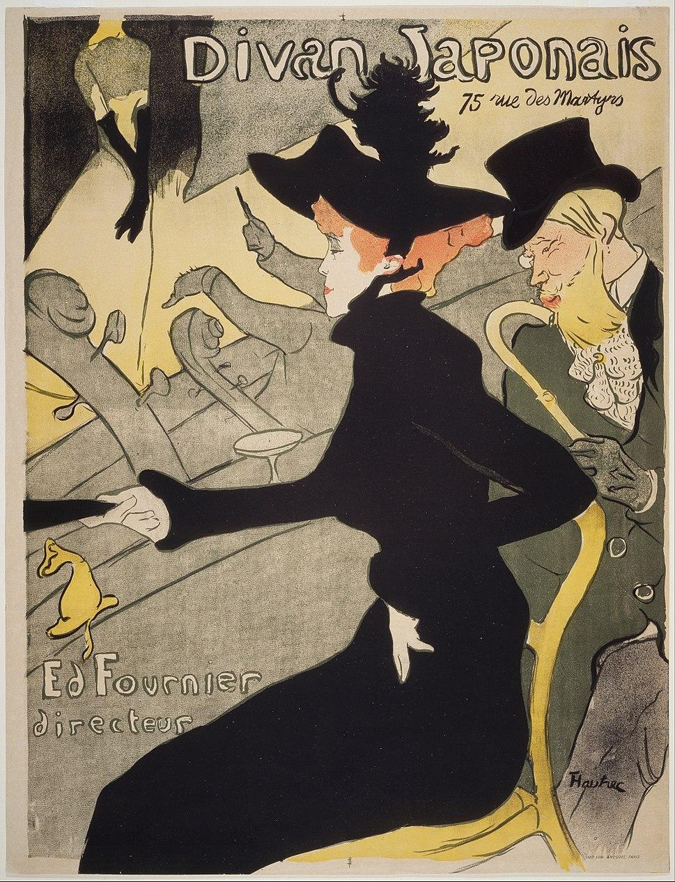 Henri de Toulouse-Lautrec - Divan Japonais - Google Art Project