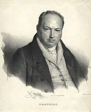 Henry Maudslay - Image: Henry Maudslay by Grevedon