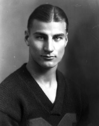 Herb Steger - Herb Steger cropped from 1922 Michigan football team photograph
