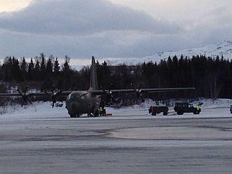 Harstad/Narvik Airport, Evenes - Royal Norwegian Air Force Lockheed C-130 Hercules at Evenes