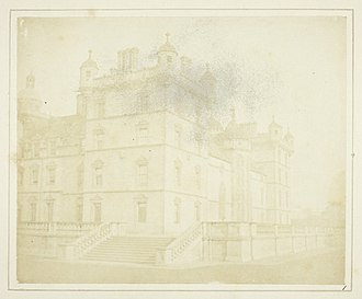 George Heriot's School - Heriot's Hospital, Edinburgh by Henry Fox Talbot, 1844.