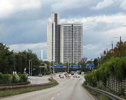 Herlev Hospital set fra Herlev Ringvej.jpg