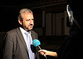 Hermann Parzinger being interviewed by KTV.jpg