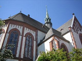 Herz-Jesu-Kirche, Mainz church building in Mombach, Germany