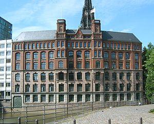 F. Laeisz - Laeiszhof Trostbrücke 1, at Hamburg-Altstadt