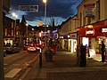High Street, Omagh (night scene) - geograph.org.uk - 1616578.jpg