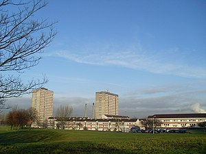 Toryglen - Prospecthill Circus as it is appeared in 2009