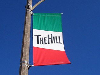 The Hill, St. Louis - Image: Hill Banner