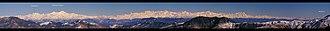 Garhwal division - Image: Himalaya Panorama Alok Prasad