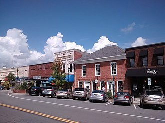 Main Street Historic District (Hendersonville, North Carolina) - Historic Hendersonville, September 2014