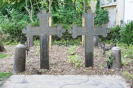 Historischer Friedhof Wandsbek (Hamburg-Wandsbek).Gräbergruppe Claudius.1.24553.ajb