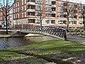 Hoevebrug - Provenierswijk - Rotterdam - View of the bridge from the northwest - Winter.jpg