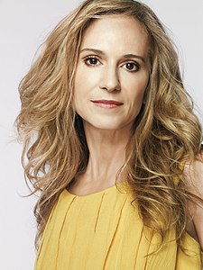 L'actriz estatounitense Holly Hunter.