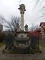 Holy Trinity column. Baroque. 1743. - Nagytétény.JPG