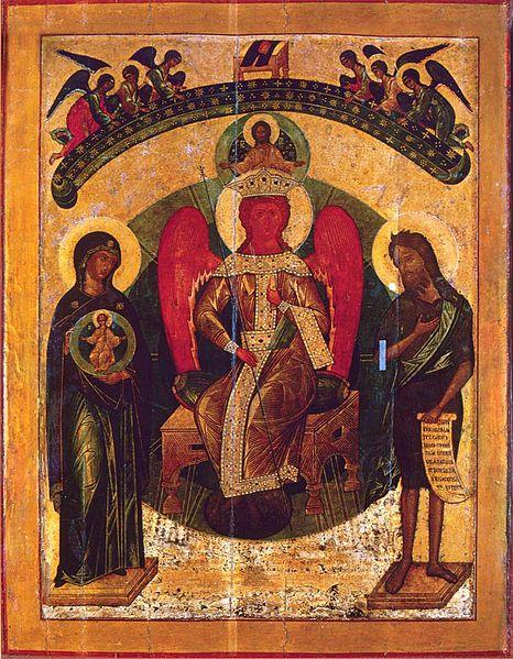 File:Holy Wisdom (16th c., Sophia cathedral, Novgorod).jpg