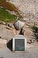 Hommage à Christophe Colomb - Calvi, Corse.JPG