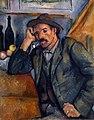 Homme à la pipe, par Paul Cézanne, Musée de l'Ermitage.jpg