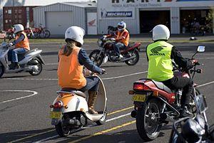 Motorcycle training - Factory-sponsored rider training in Australia.