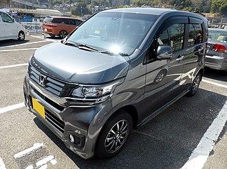 Honda N-WGN - Image: Honda N WGN Custom G Turbo Package (JH1) front