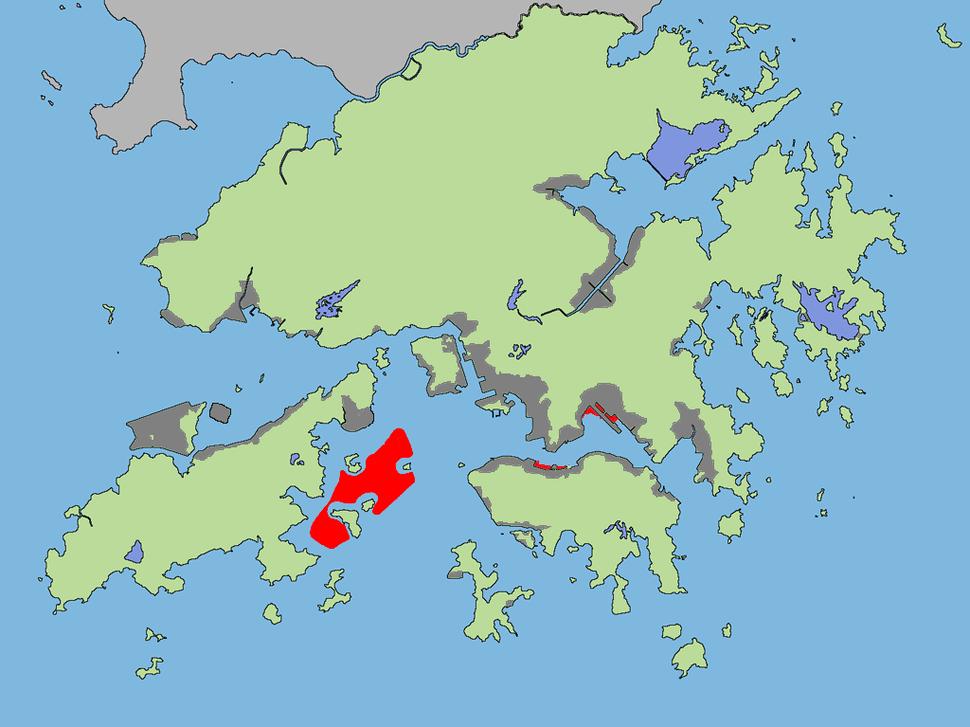 Hong Kong reclamation
