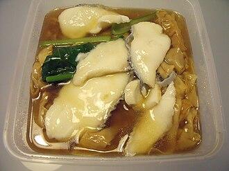 Shahe fen - Sliced fish hor fun sold in Bukit Batok, Singapore
