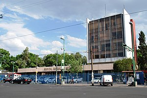 Colonia Doctores - Hospital General de México, located on Dr. Balmis street near Avenida Cuauhtémoc and Metro Hospital General.