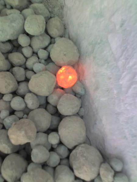 White Cement Clinker : File hot clinker g wikimedia commons