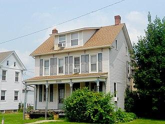 Spry, Pennsylvania - Image: House Spry, York Co, PA 1