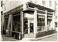 Houttil 42, hoek Magdalenenstraat 2, ijzerwinkel De Magneet N. Zomerdijk, tijdens de restauratie in - RAA011001841 - RAA Elsinga.jpg