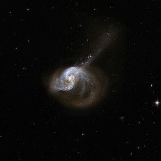 NGC 1614 - Hubble Space Telescope image of NGC 1614