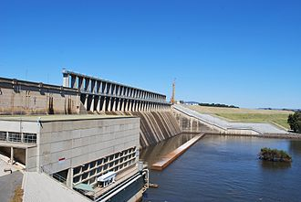 Hume Dam - Hume Power Station (2011)