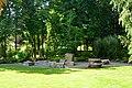 Hunts Point, WA - stone garden near town hall 01.jpg
