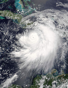 Hurricane Dennis on July 7 2005 1550 UTC.jpg