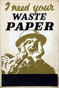 Paper Salvage 1939 50 Wikipedia