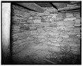 INTERIOR, WEST WALL - Rock Well Homestead, Dugout, 15 miles Southeast of Wright, Wright, Campbell County, WY HABS WYO,3-WRT.V,1A-5.tif