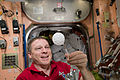 ISS-43 Terry Virts creates a sphere of bubbles.jpg