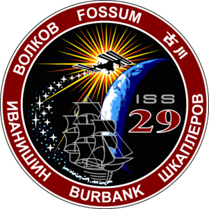 Expedition 29 - Image: ISS Expedition 29 Patch