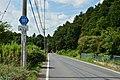 Ibaraki prefectural road route 181 (Miyagasaki-Obata line) in Torihata,Ibaraki town.jpg