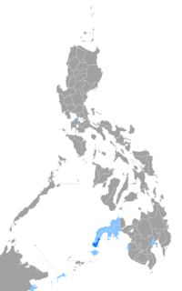 Spanish-based creole language spoken in the Philippines